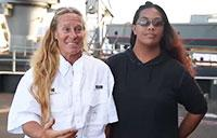 Mariners Discuss Time Aboard Navy Ship USS Ashland