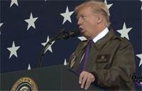 Trump Speaks to Troops in Yokota