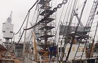 Coast Guard Cutter Eagle Undergoes Renovations