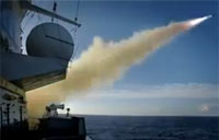 Dutch Navy Launches Harpoon Missiles