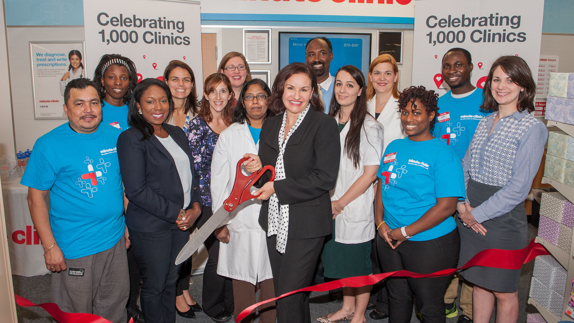 MinuteClinic Opens 1000th Clinic