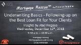 Underwriting for Case Detail of Best Fit Loans