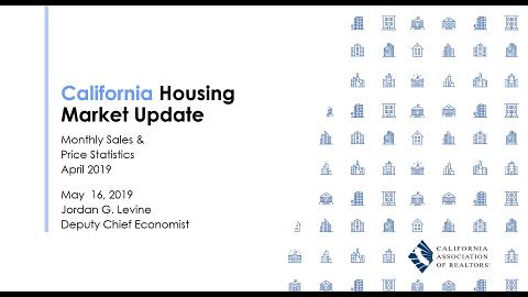 April 2019 Housing Market Update