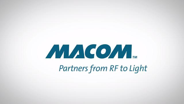 MACOM - Partners from RF to Light