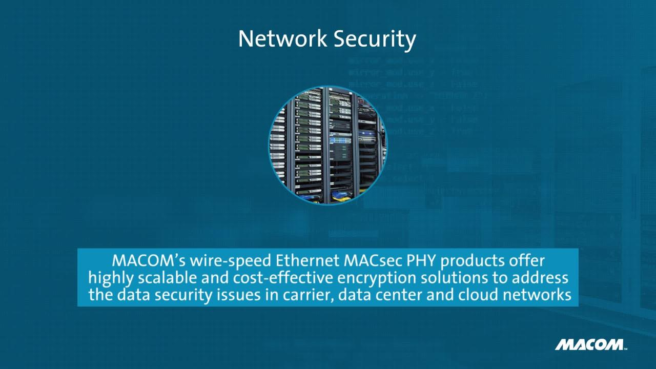 Macom Network Security Contacts Wiring Series Macoms Wire Speed Ethernet Macsec Phy Products Offer Highly Scalable And Cost Effective Encryption Solutions To Address The Data Issues In Carrier