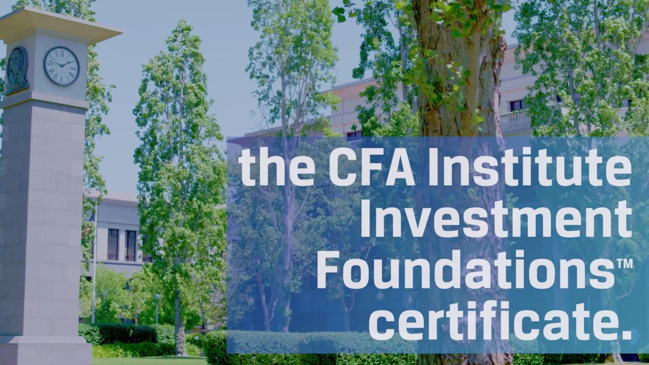 Cfa institute investment foundations program fandeluxe Image collections