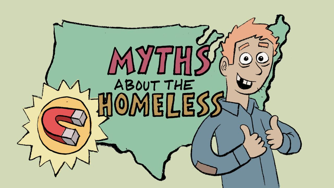 myths about homelessness in america