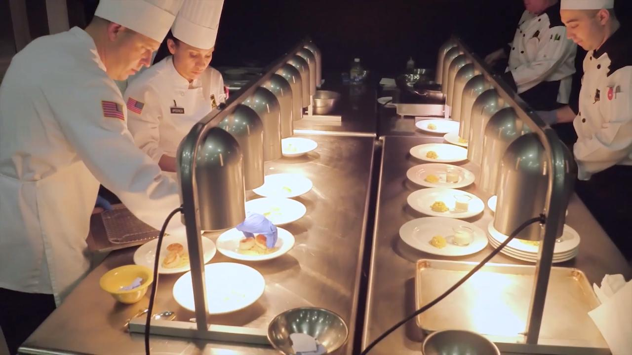 Fort Lee: A Competition of Military Chefs from Around the World | KCET
