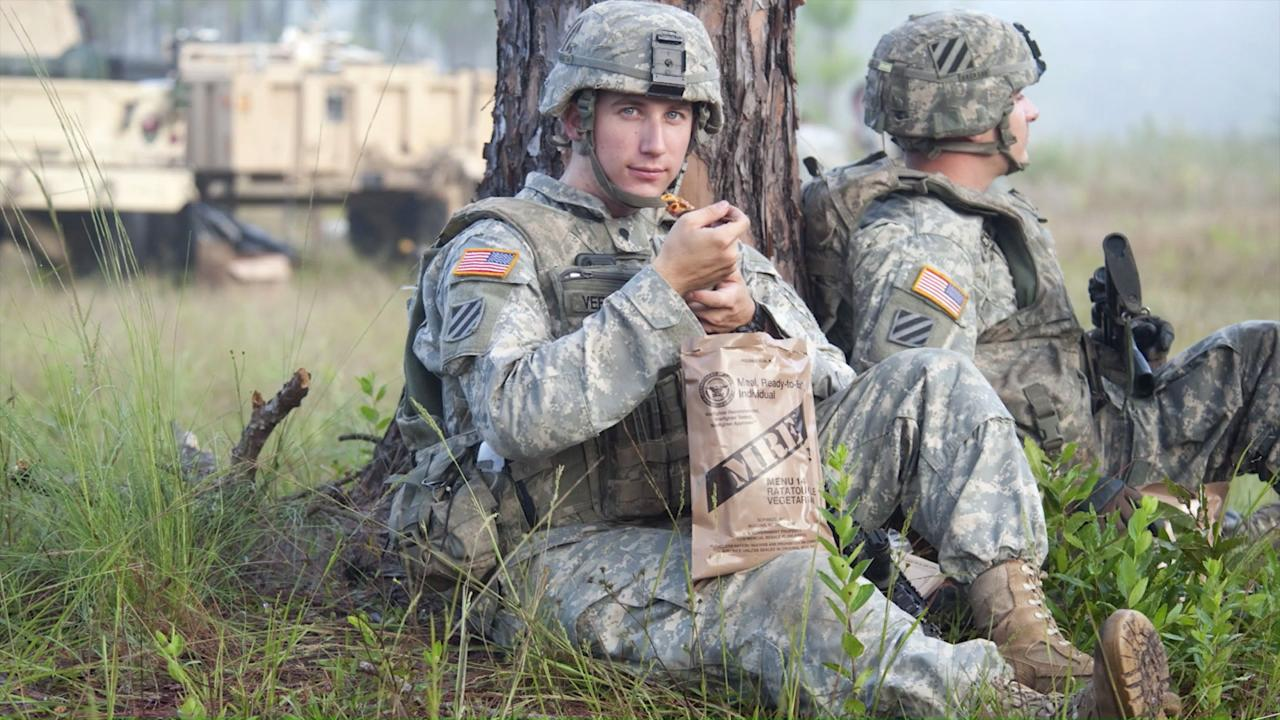 0c1451d3c0b358 How Military Rations Have Evolved Over The Years To Feed Hungry Troops    KCET