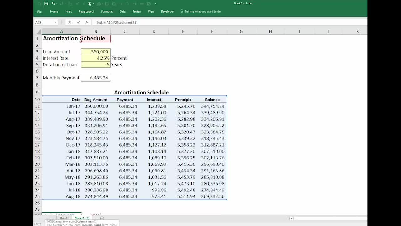 Microsoft Excel: How to reference vertical cells horizontally