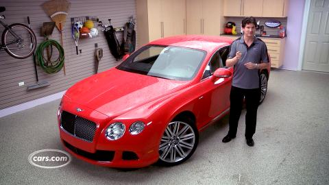 Video: 2014 Bentley Continental GT Speed