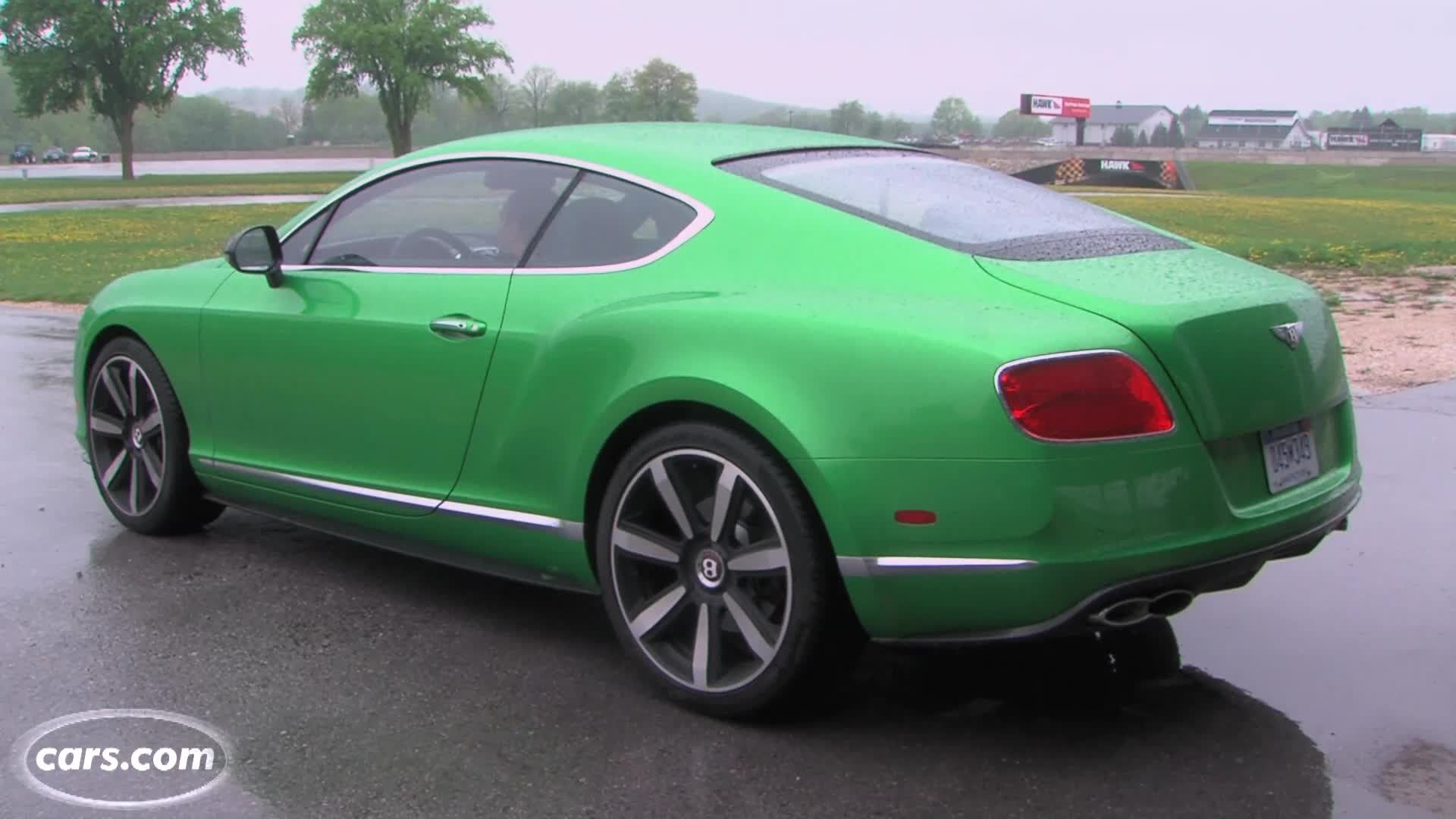 Video: 2013 Bentley Continental GT Exhaust Note