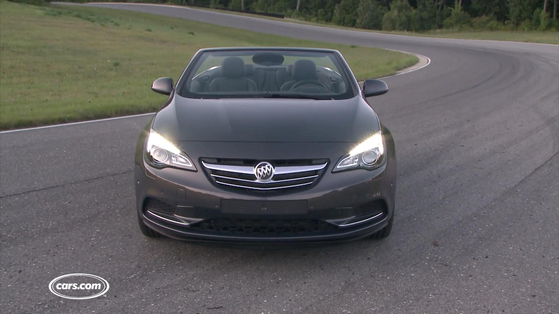 2016 Buick Cascada Video
