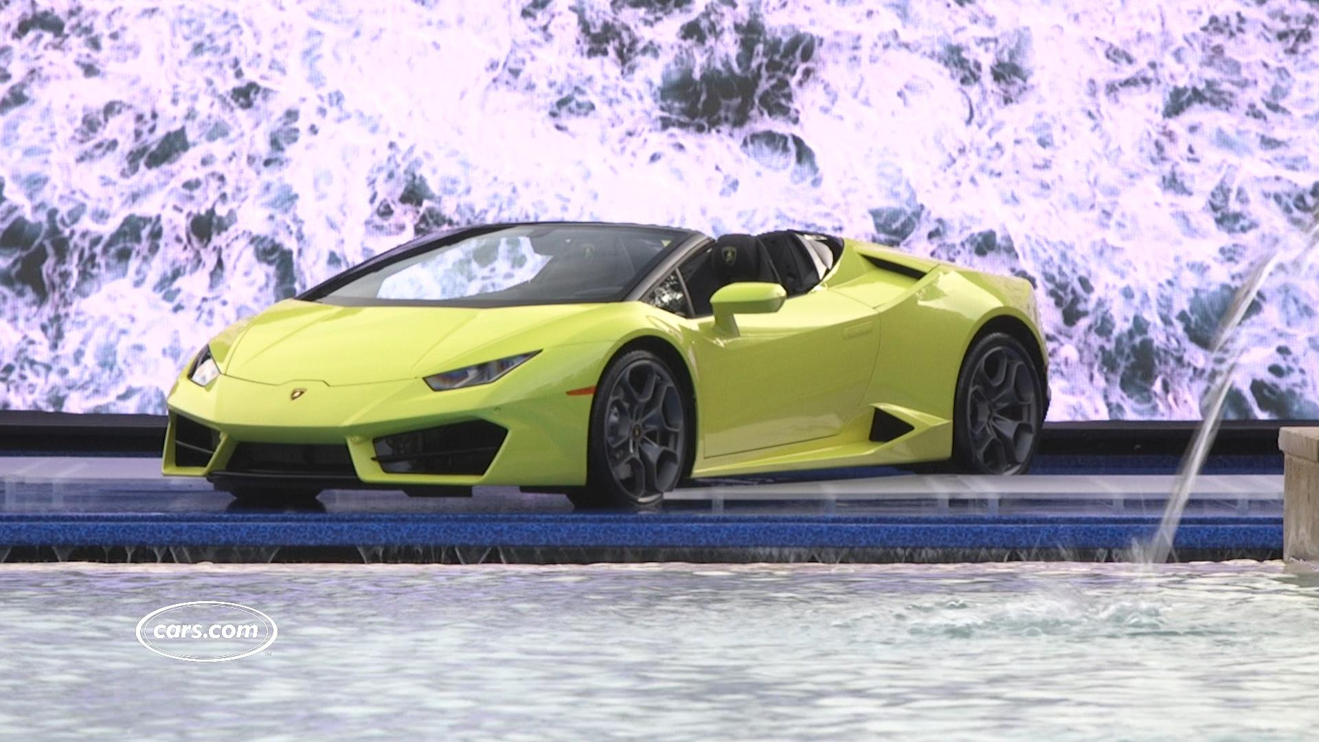Video: 2017 Lamborghini Huracán RWD Spyder Review: First Impressions