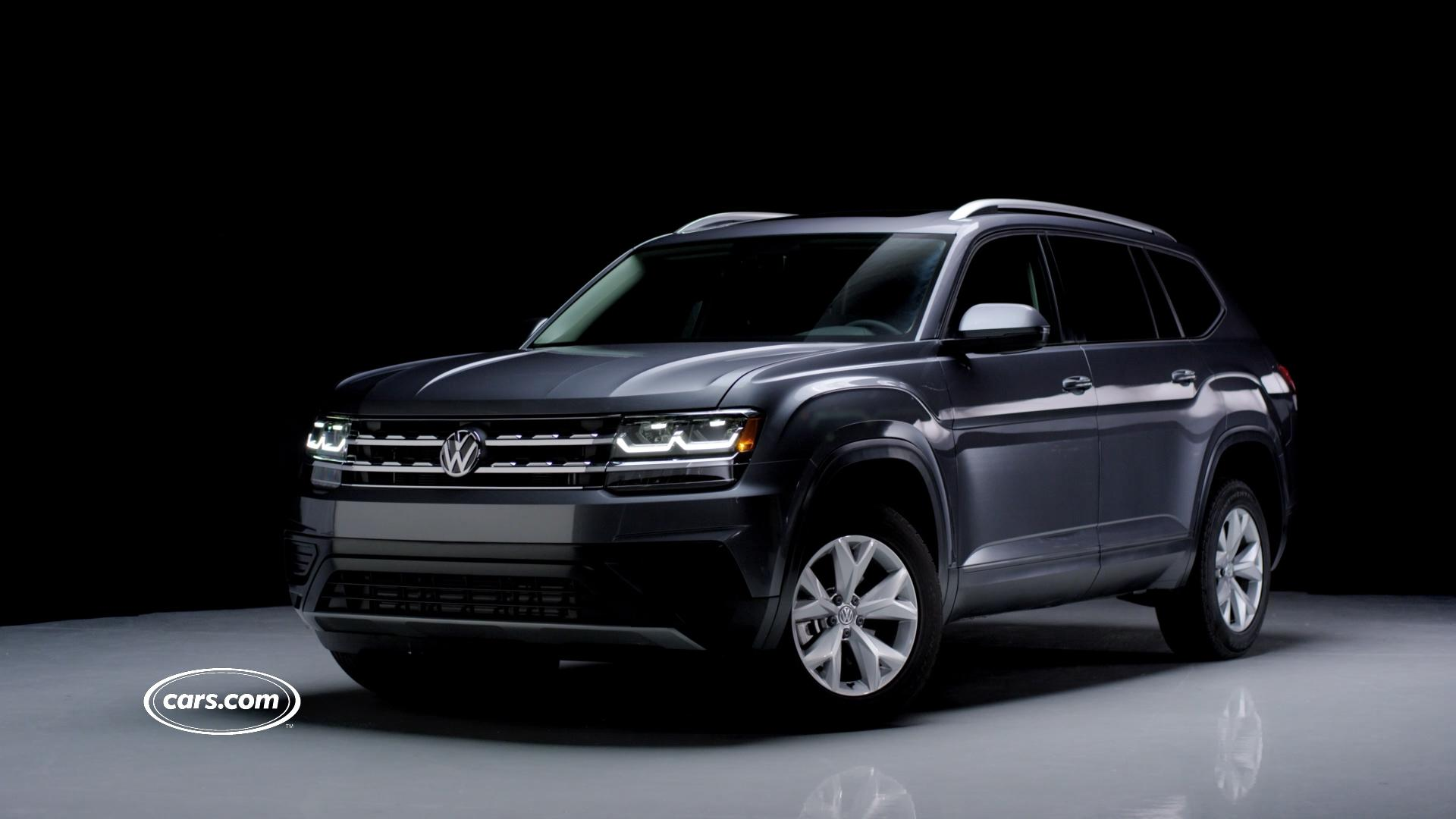 2018 Volkswagen Atlas Review First Impressions News