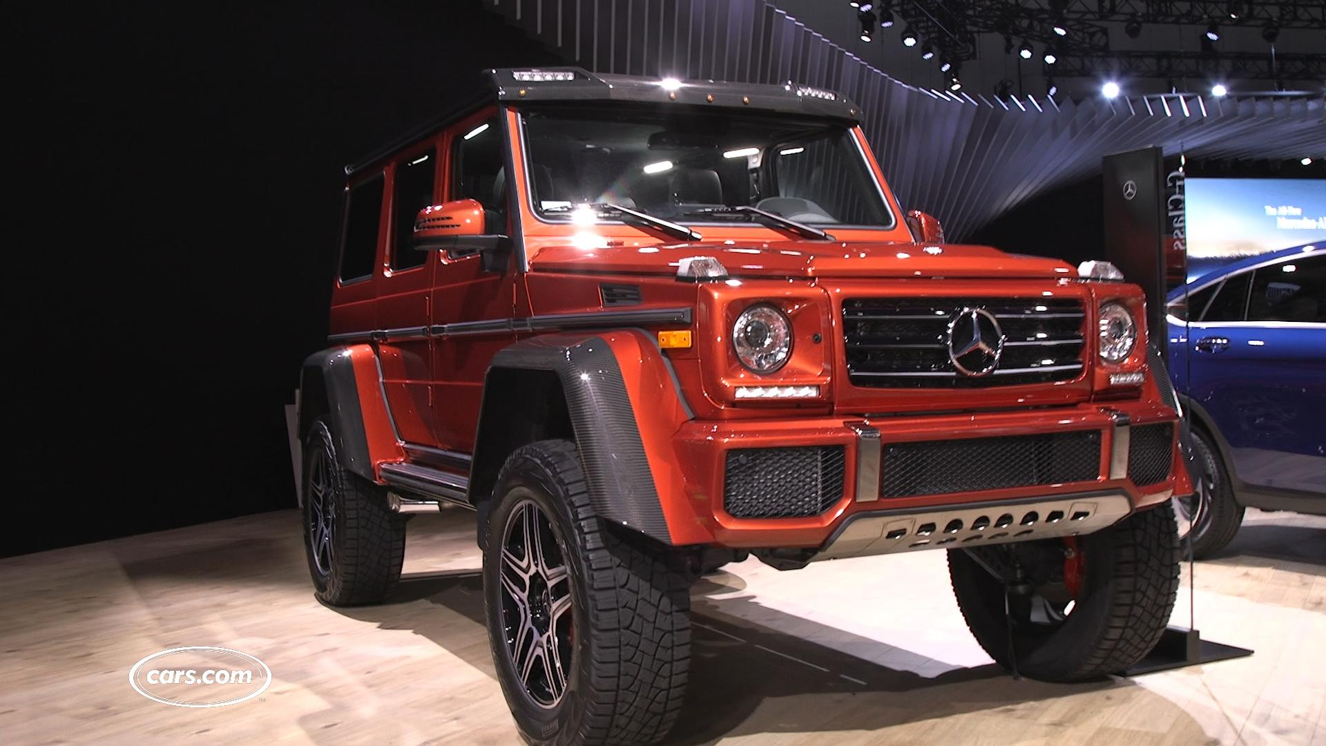 2017 Mercedes Benz G550 4x4 Squared Review Photo Gallery