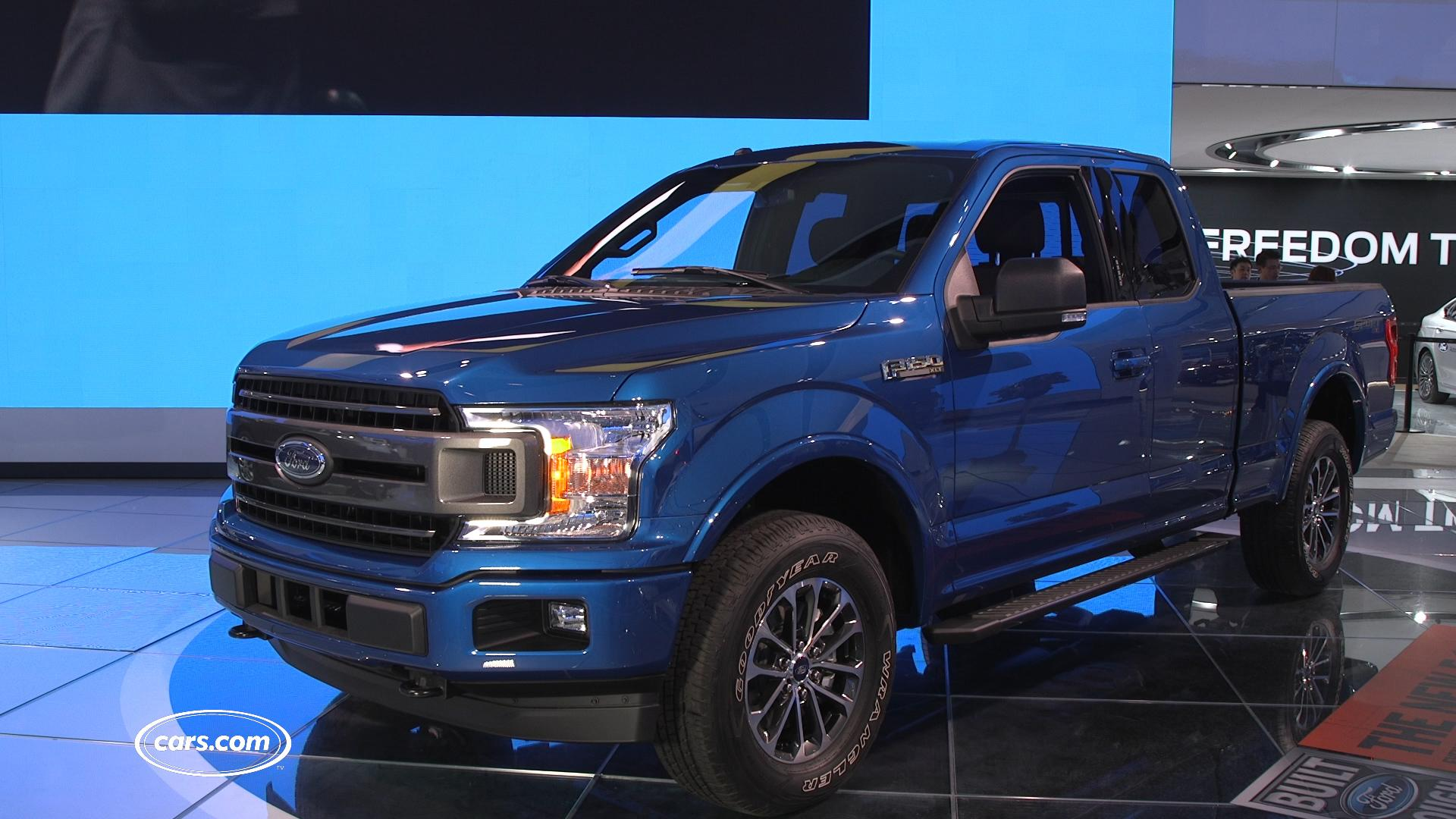 2018 ford f 150 review first impressions video. Black Bedroom Furniture Sets. Home Design Ideas