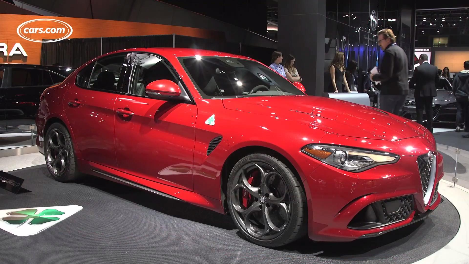 2017 Alfa Romeo Giulia Video