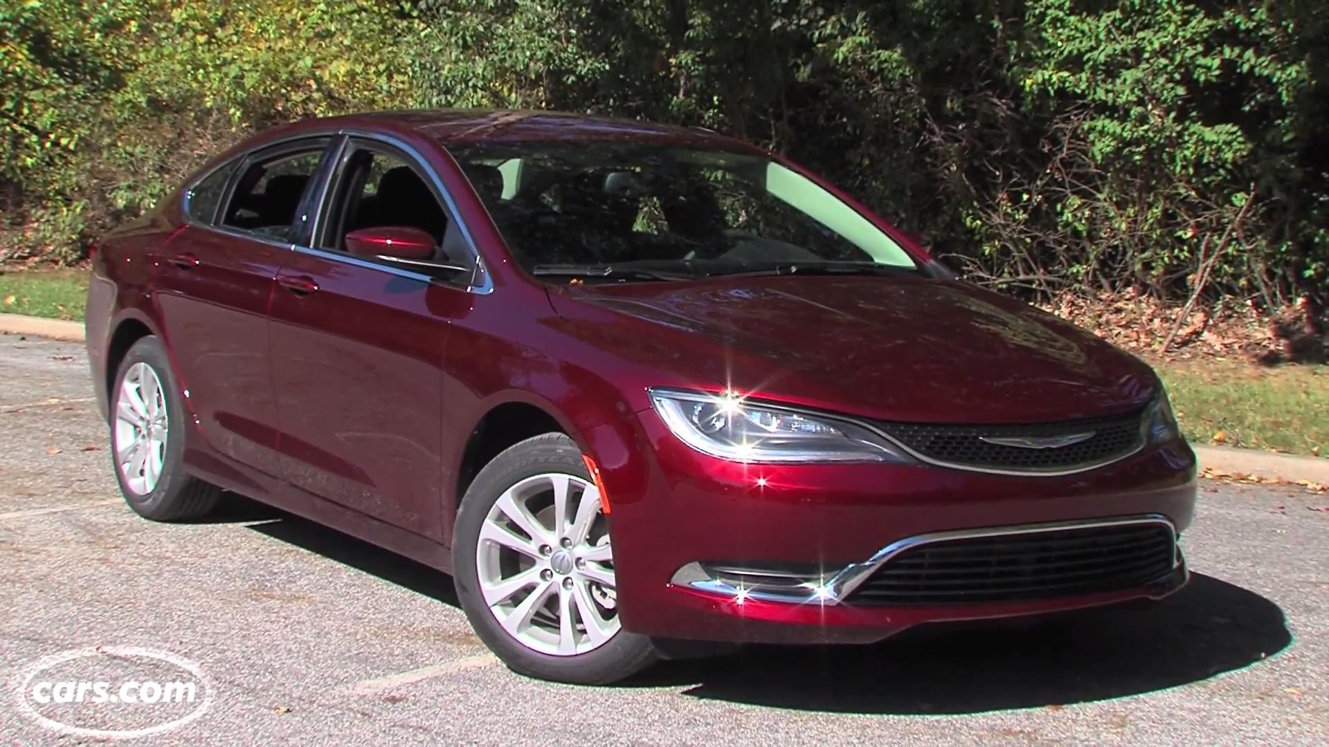 2015 Chrysler 200 Review Video