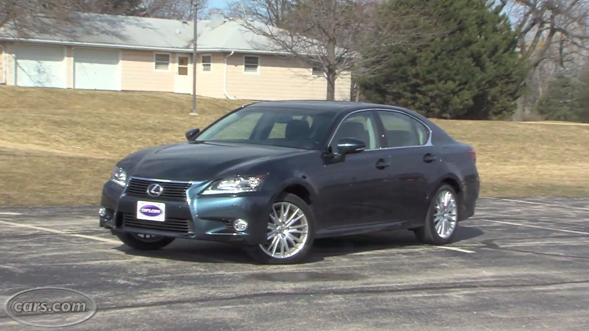 2013 lexus gs 350 overview | cars