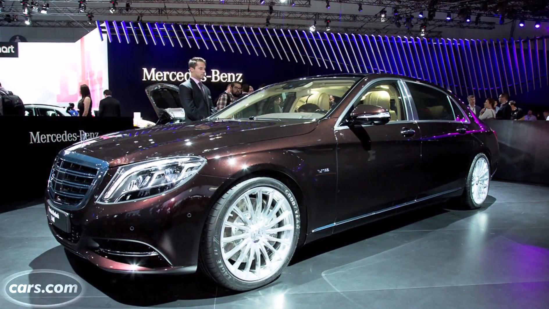 2016 Mercedes Maybach S600 First Look News Cars Com