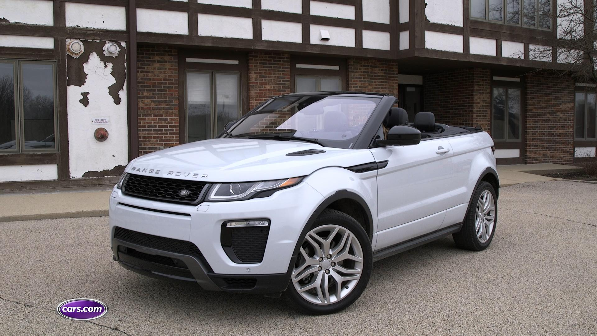 2017 Land Rover Range Rover Evoque Convertible Video Review News
