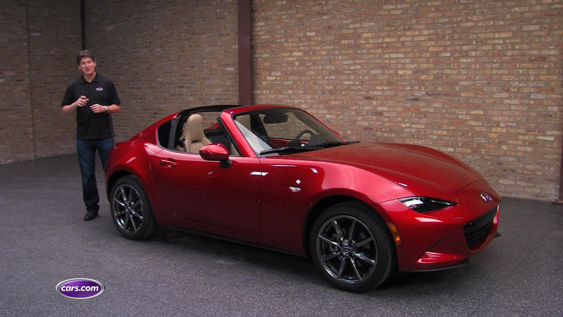 2017 Mazda MX-5 Miata RF Expert Reviews, Specs and Photos | Cars.com