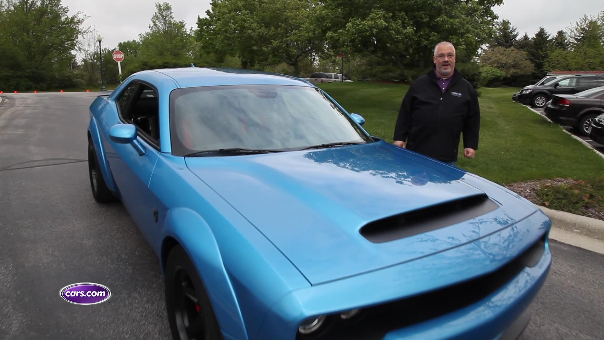 Video: We Fire Up the 2018 Dodge Challenger SRT Demon