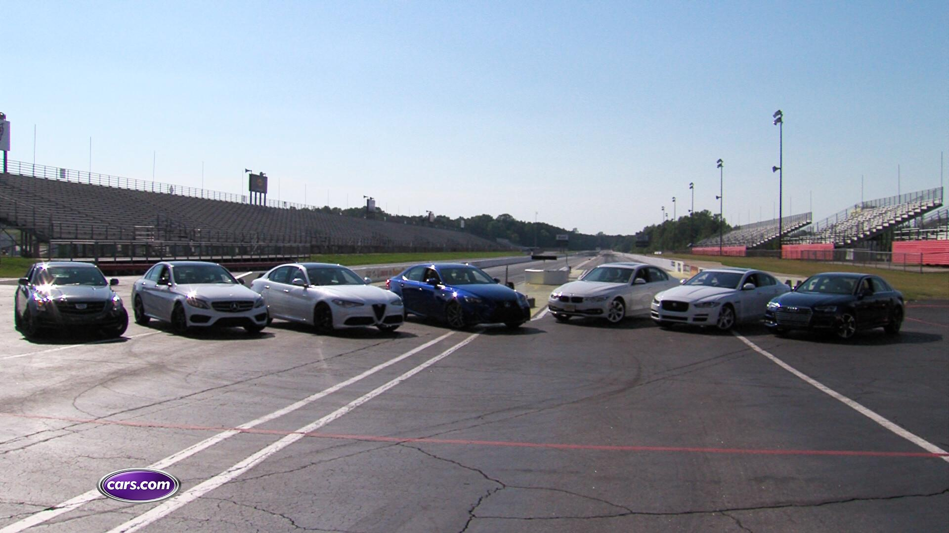 Video: 2017 Luxury Sedan Challenge: Acceleration Test