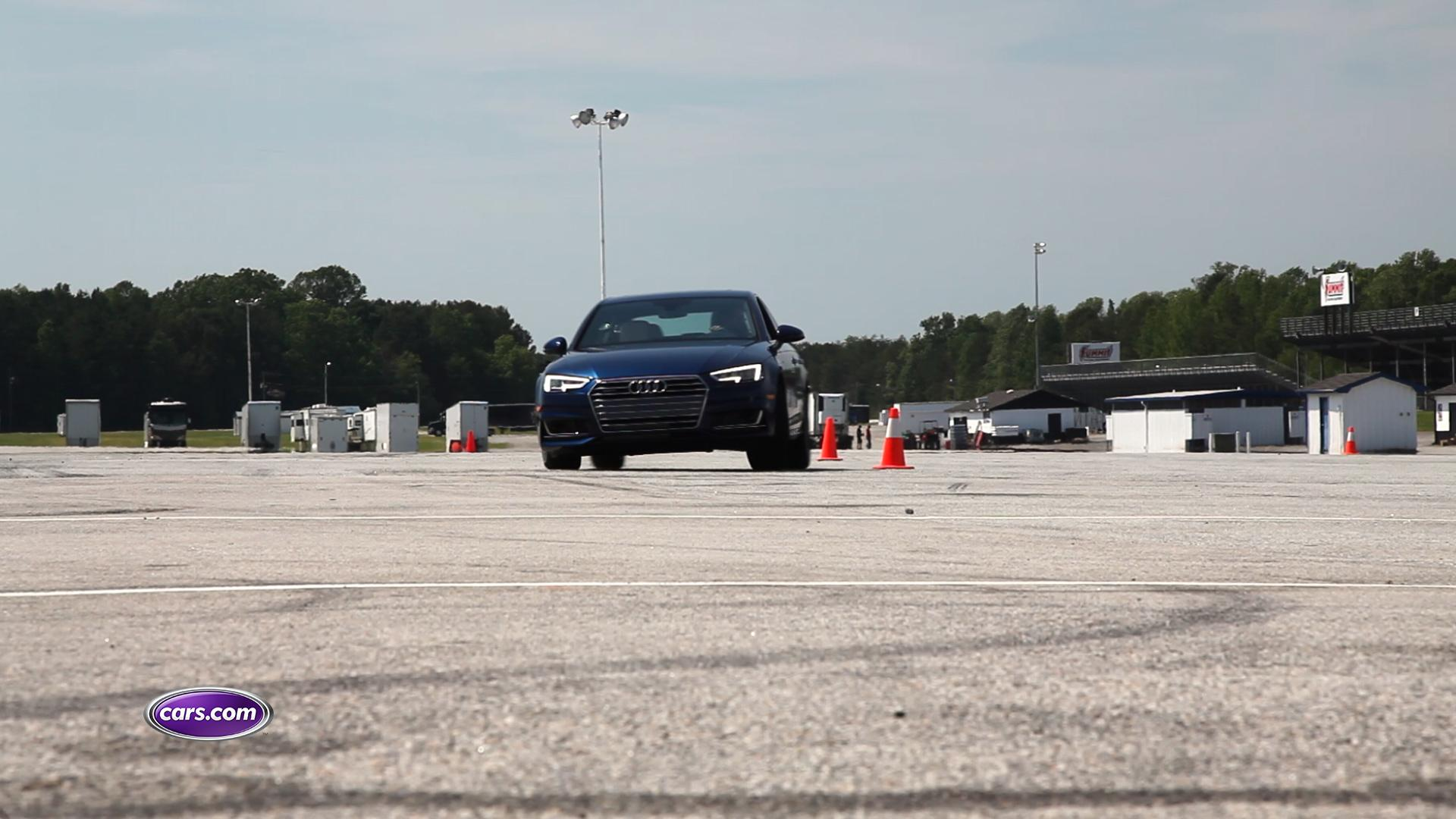 Luxury Sports Sedan Challenge Video: Handling