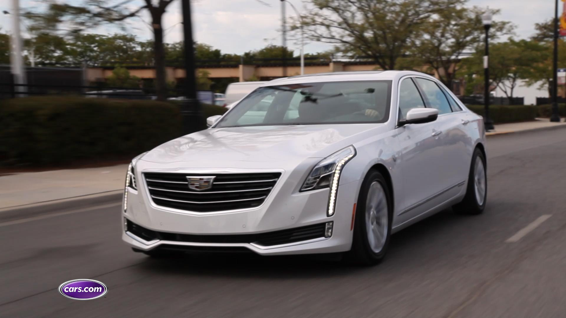 2017 Cadillac CT6 Plug-In Hybrid Video Review