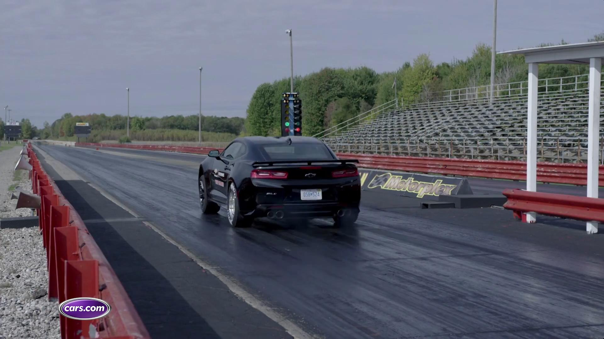 Video: 2018 Chevrolet Camaro ZL1 Drag Race Concept — Cars.com