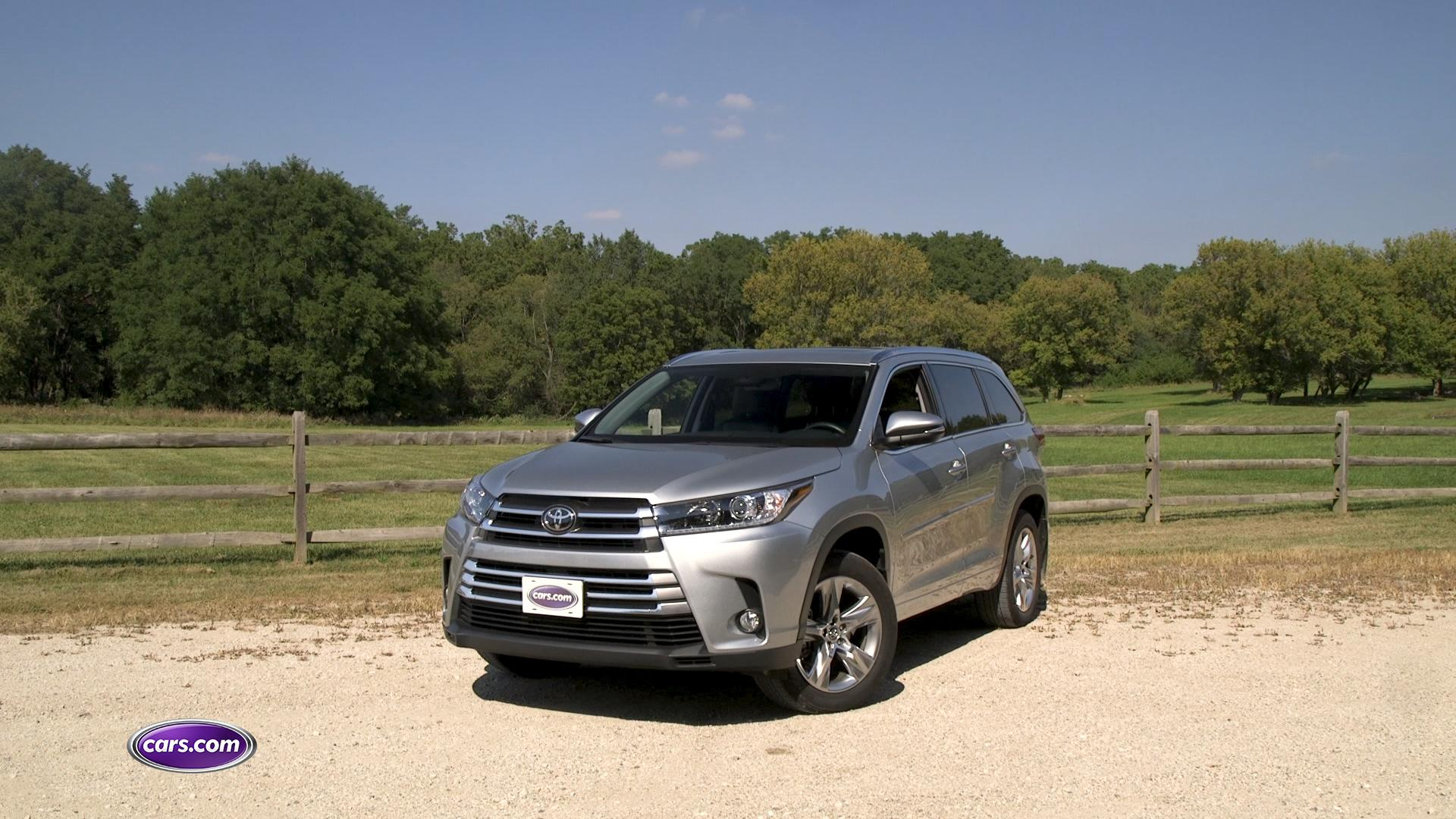 Video: 2017 Toyota Highlander Review — Cars.com