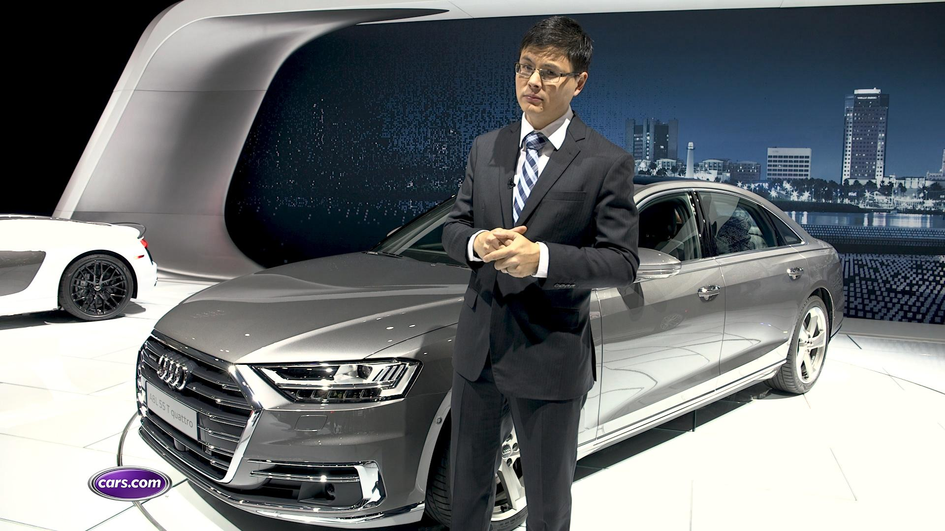 Video: 2019 Audi A8: First Look at LAAS — Cars.com