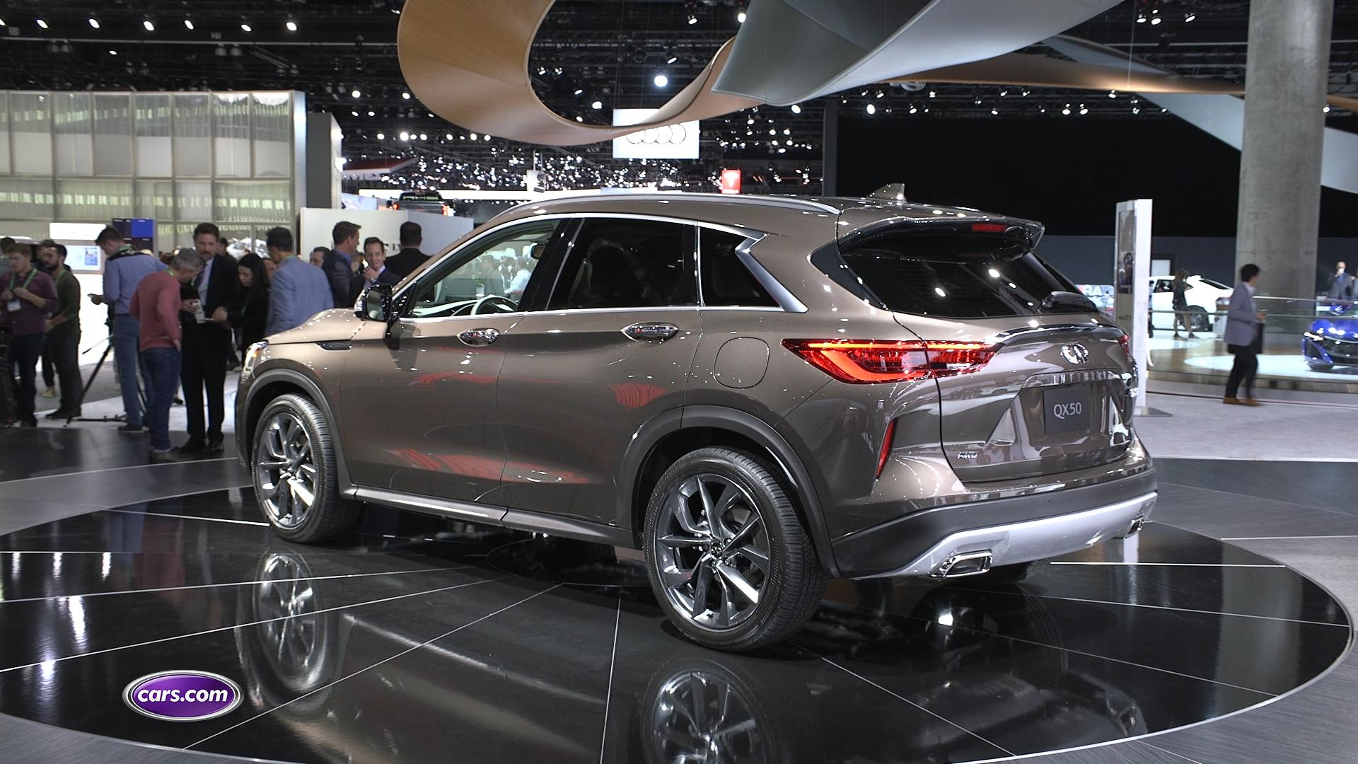 Video: Infiniti QX50 Returns for 2019 With True Luxury Cred