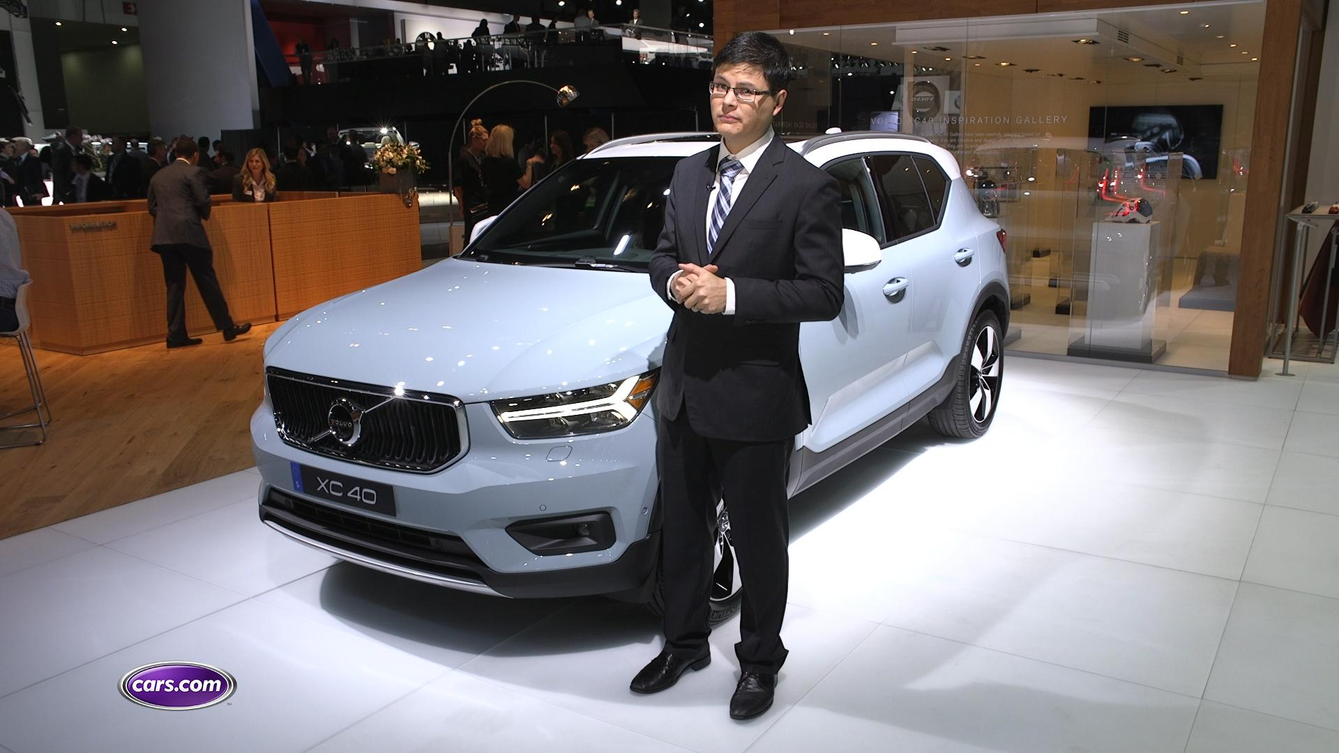Video: Volvo XC40: First Impressions — Cars.com