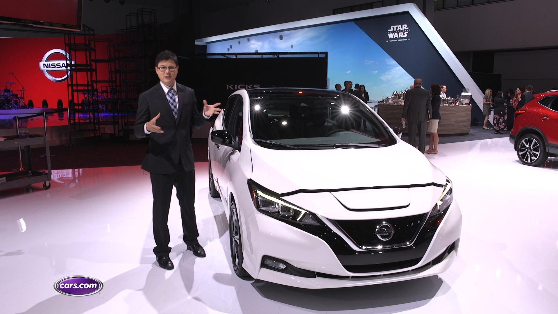 Video: 2018 Nissan Leaf Redesigned All Electric Hatchback – Cars.com