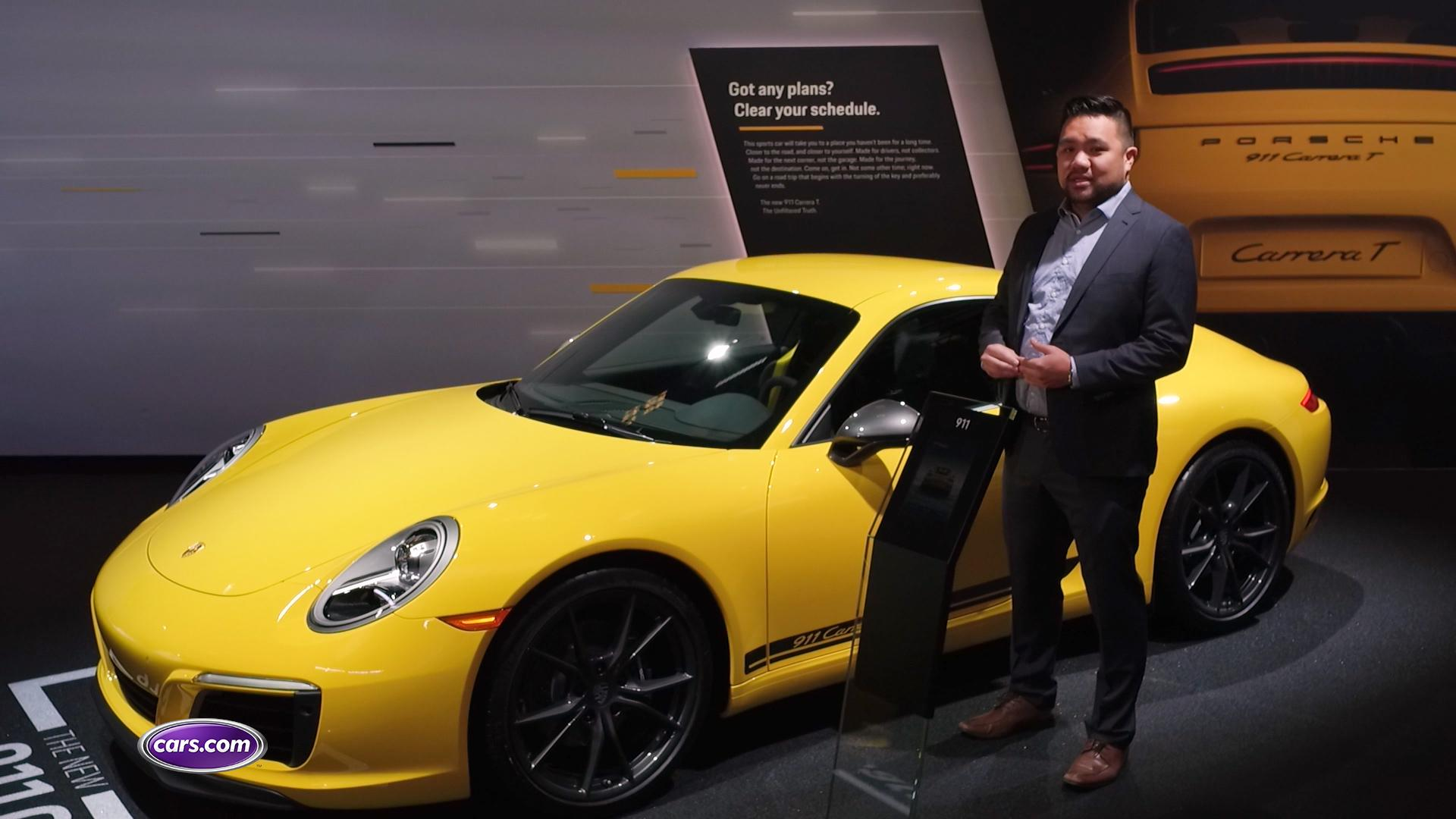 New Porsche 911 Carrera Suits Purists to a 'T'
