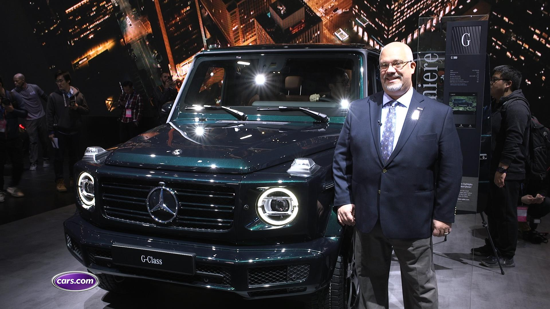 Video: 2019 Mercedes-Benz G-Class: First Impressions