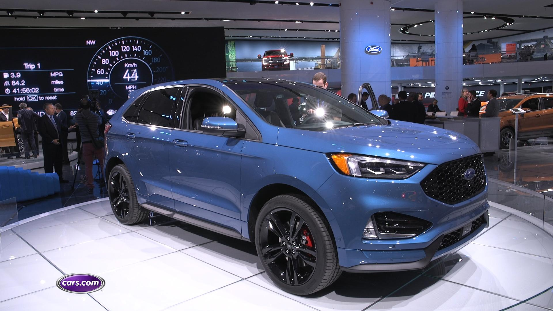 Video: Ford Edge Gets Refresh with New ST for 2019 – Cars.com
