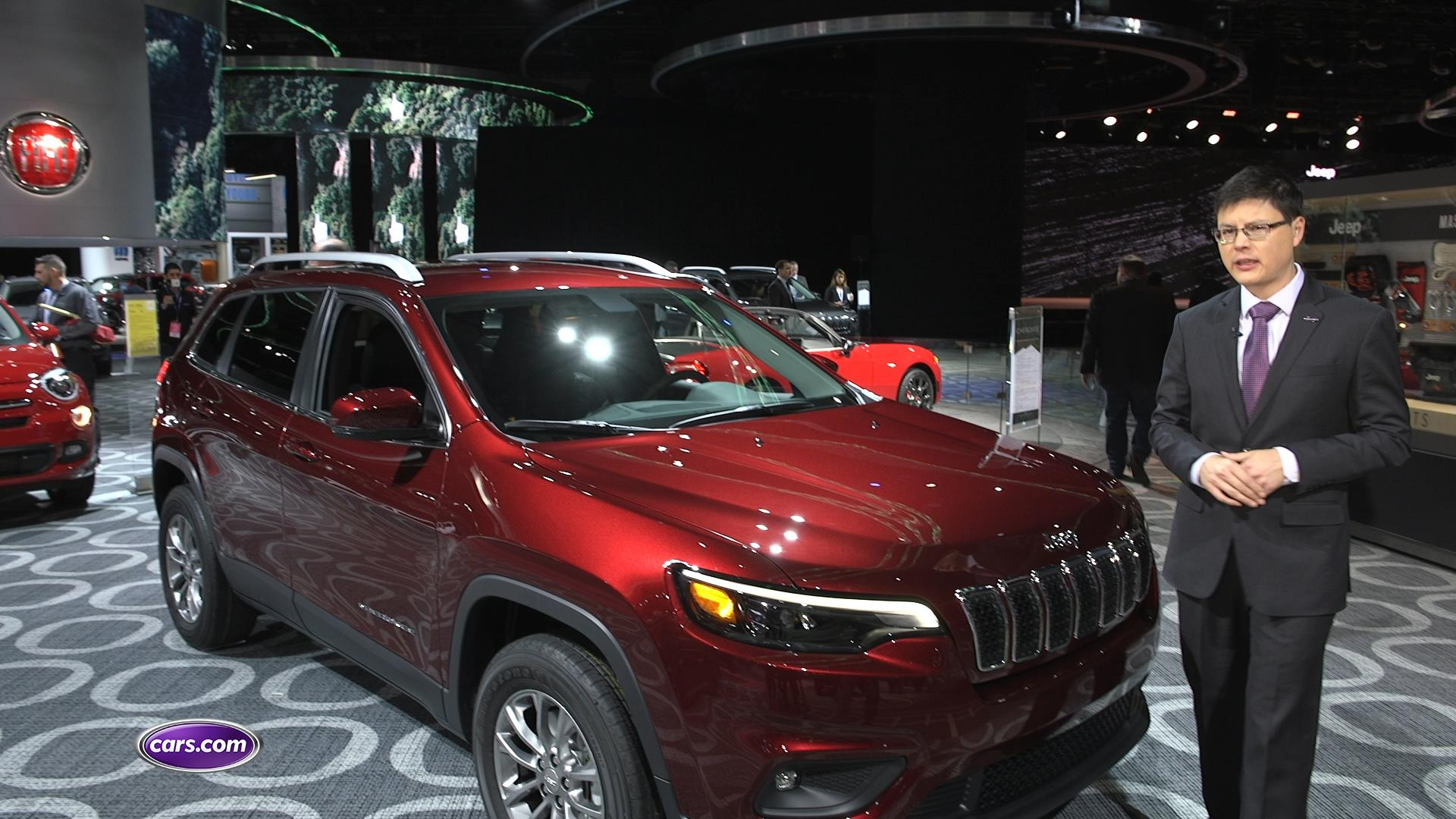 Video: Jeep Puts Best Face Forward With 2019 Cherokee Redesign — Cars.com