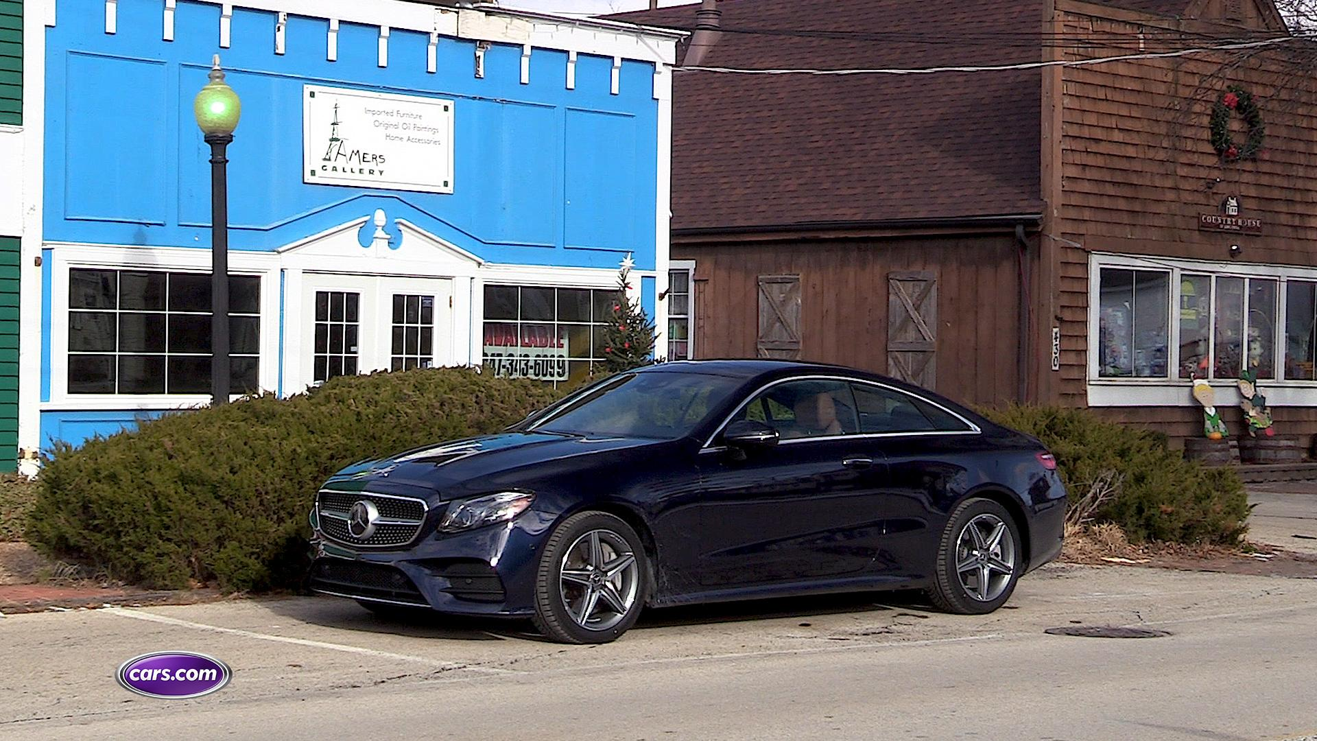 Video: 2018 Mercedes-Benz E400: 5 Cool Features — Cars.com