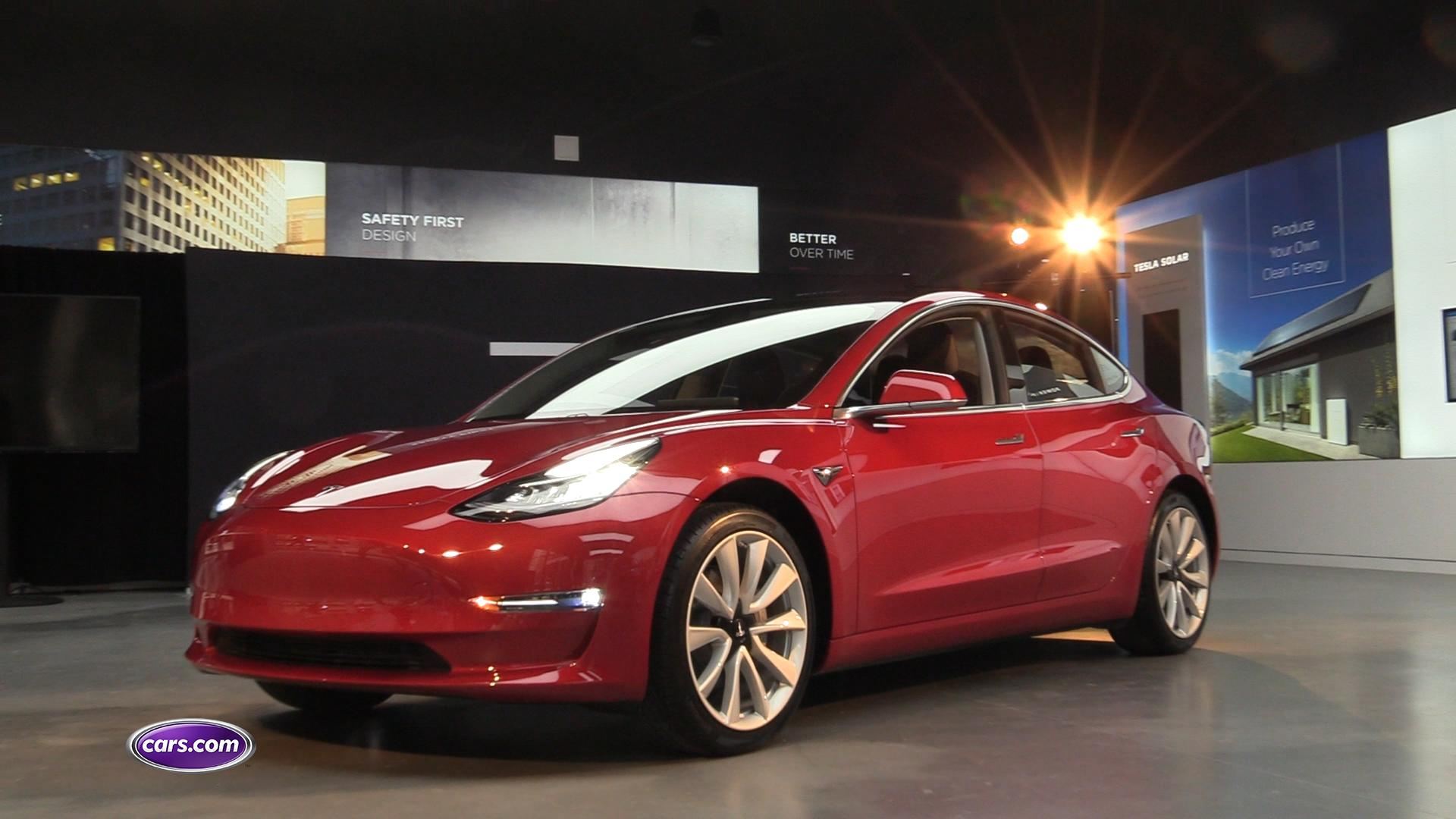 Video: We Take a Deep Dive Into the Tesla Model 3