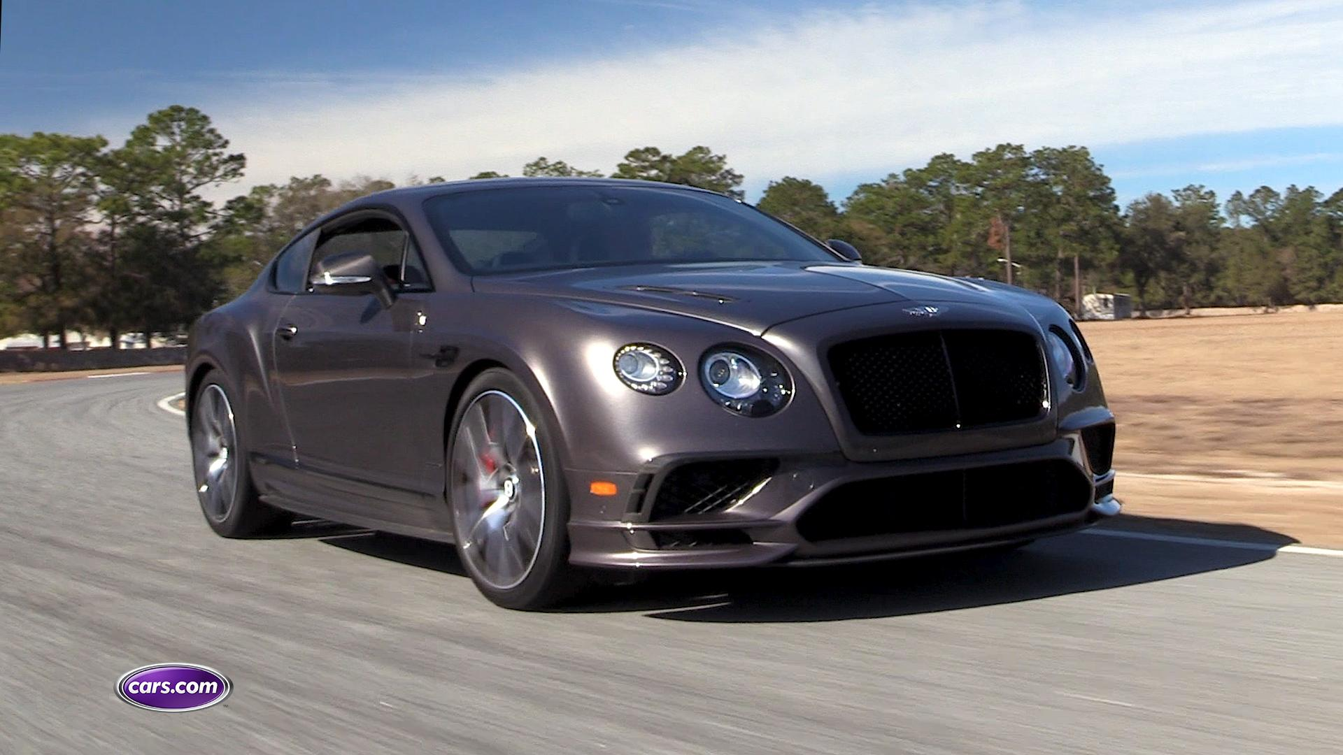 Video: 2017 Bentley Continental Supersports — Cars.com
