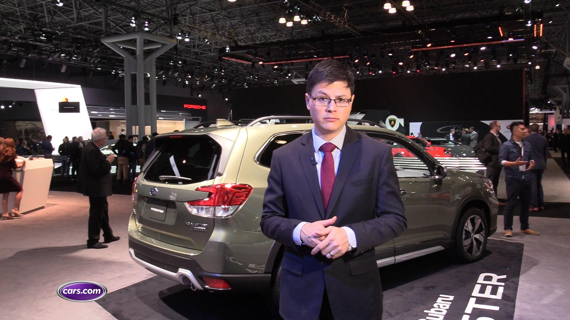 Video: 2019 Subaru Forester: First Look – Cars.com