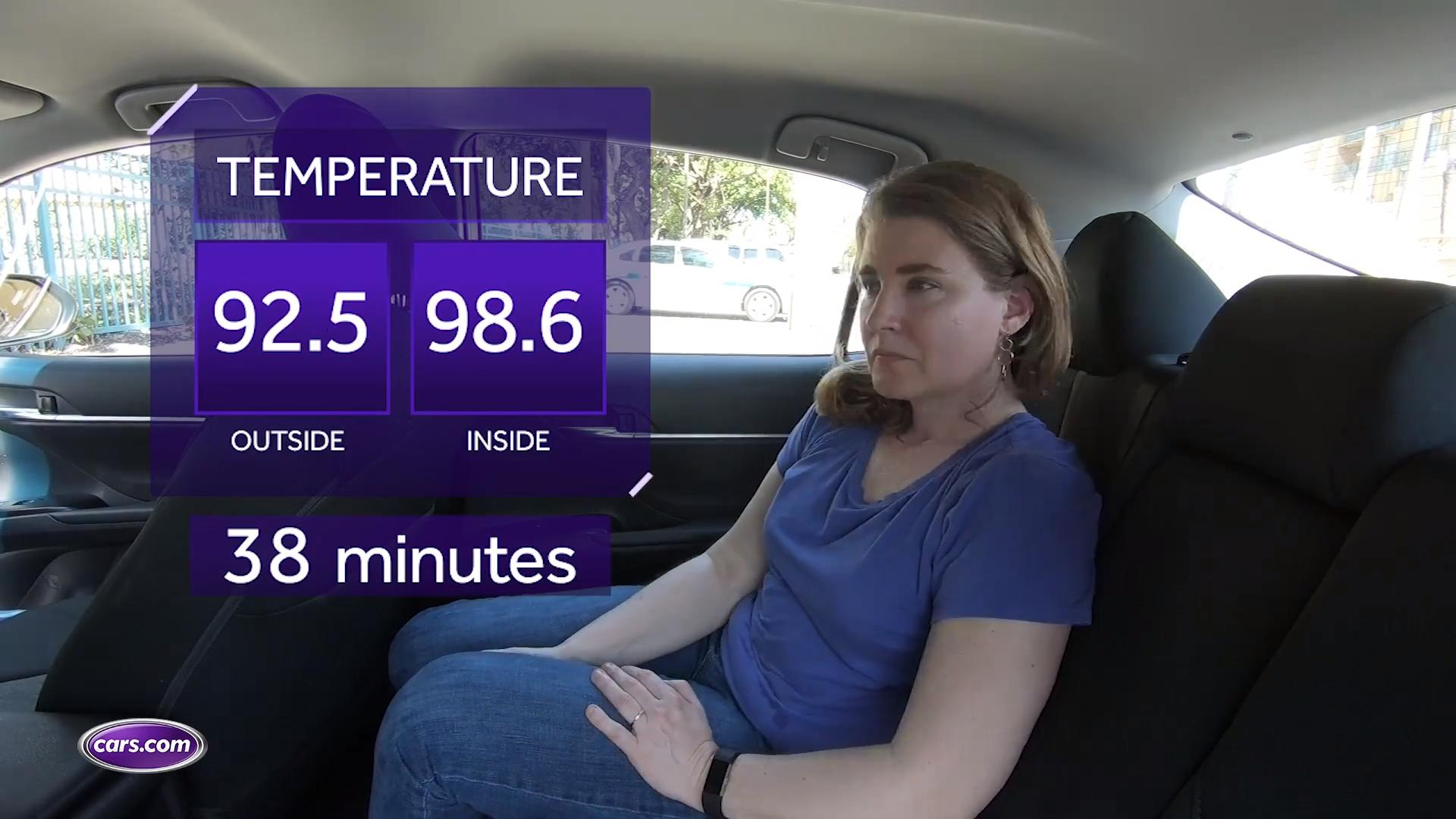 I Sit in the Hot Seat to Demonstrate Children's In-Car Heatstroke Risk
