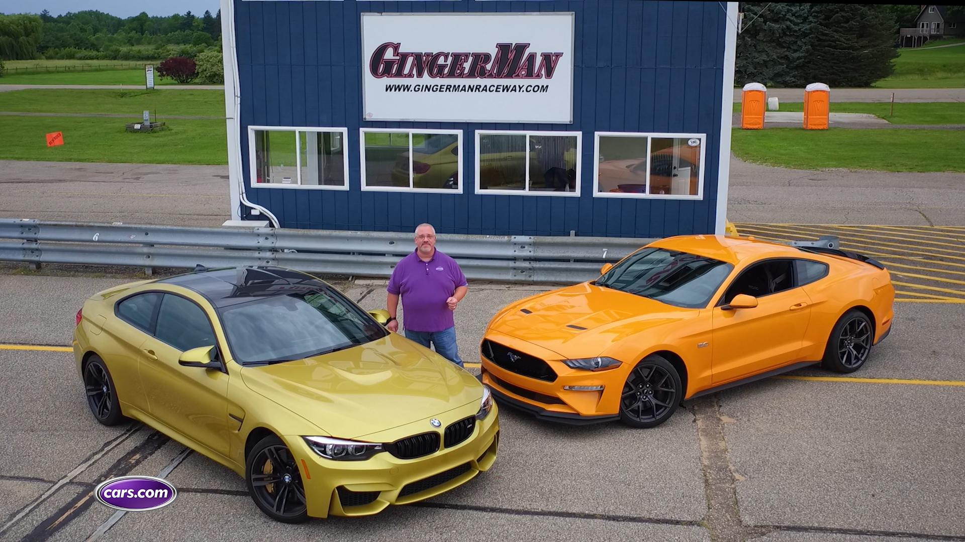 Price of Performance: BMW M4 Vs. Ford Mustang GT Performance Pack 2