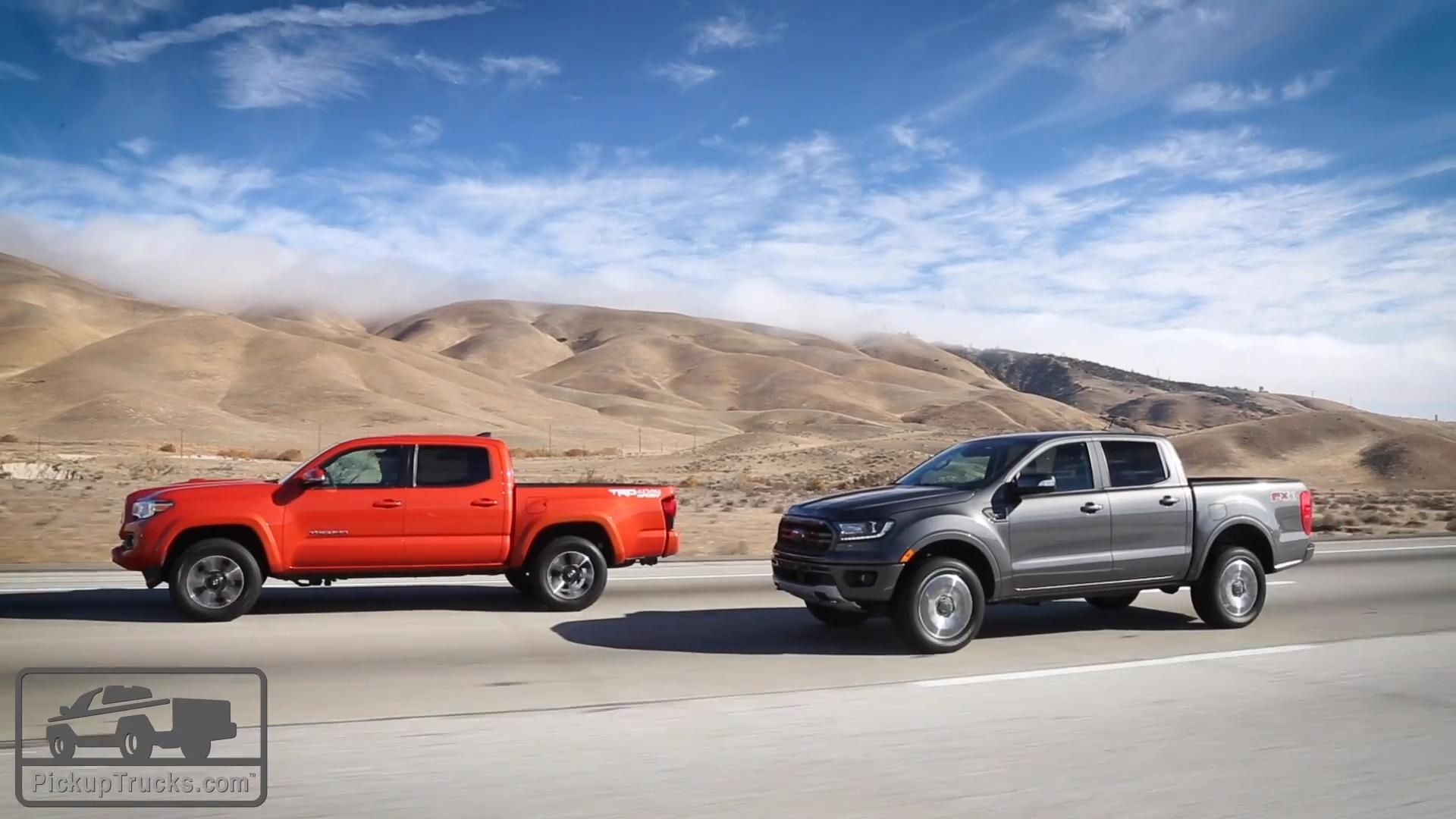 Video: 2019 Ford Ranger vs. 2018 Toyota Tacoma — Pickuptrucks.com