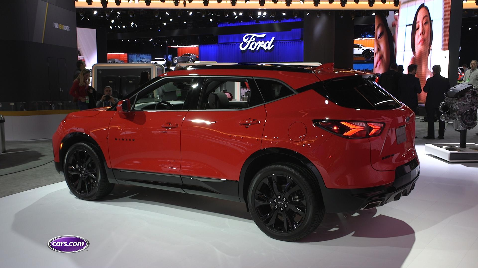 2019 Chevrolet Blazer RS: First Impressions – Cars.com Video