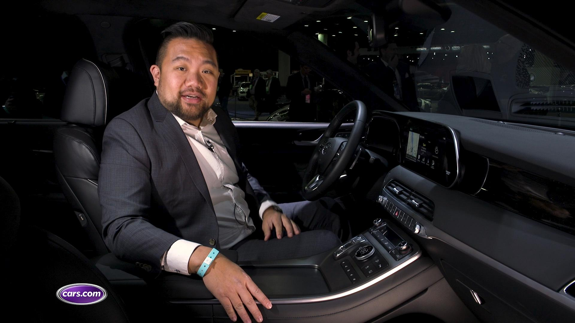 Video: 2020 Hyundai Palisade: Interior Impressions — Cars.com